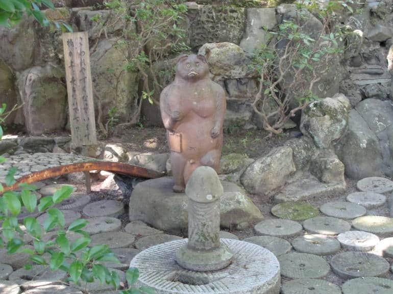 Taga Shrine Phallus