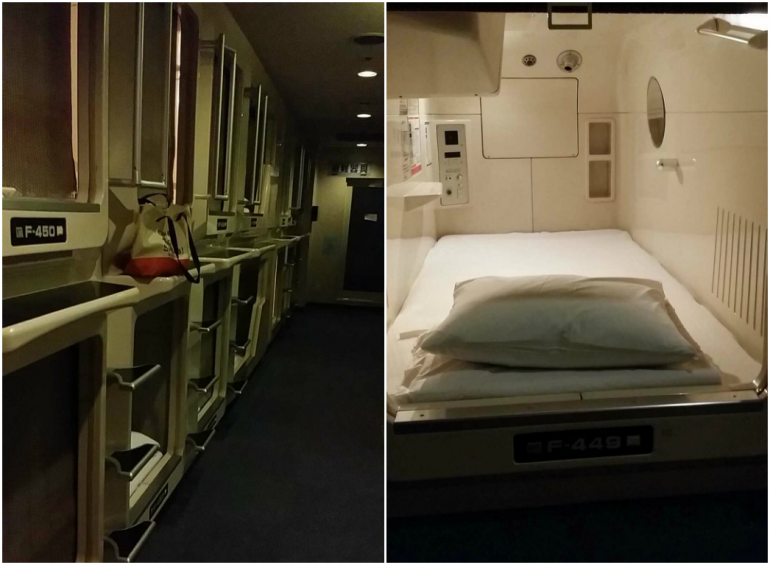 Capsule Hotel Osaka - things to do in osaka
