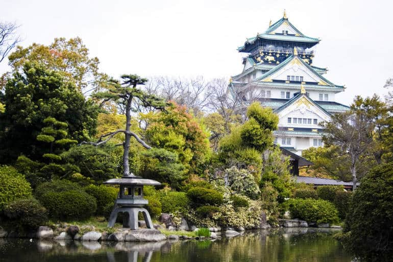 Osaka Castle - things to do in osaka