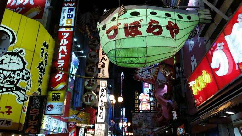 Dotonbori night - things to do in osaka