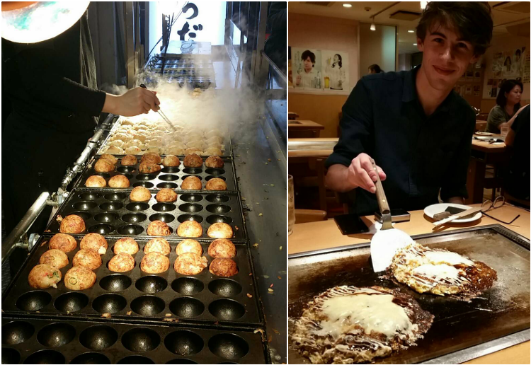 Takoyaki Okonomiyaki - things to do in osaka