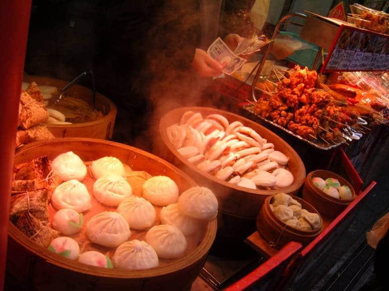 kobe chinatown street food