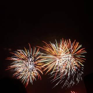 Huisten Bosch Kyushu Ichi Fireworks Festival