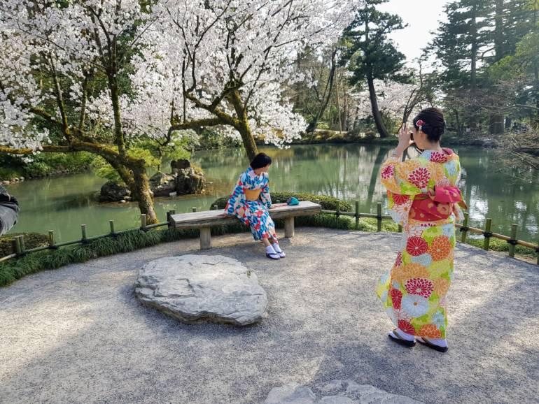 Kanazawa kimono rental