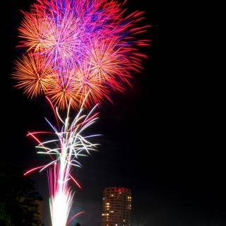 Kanmon Straits Fireworks Festival