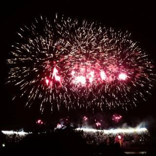 Hitoyoshi Fireworks Festival