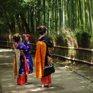 Wander Through Kyoto's Iconic Bamboo Forest