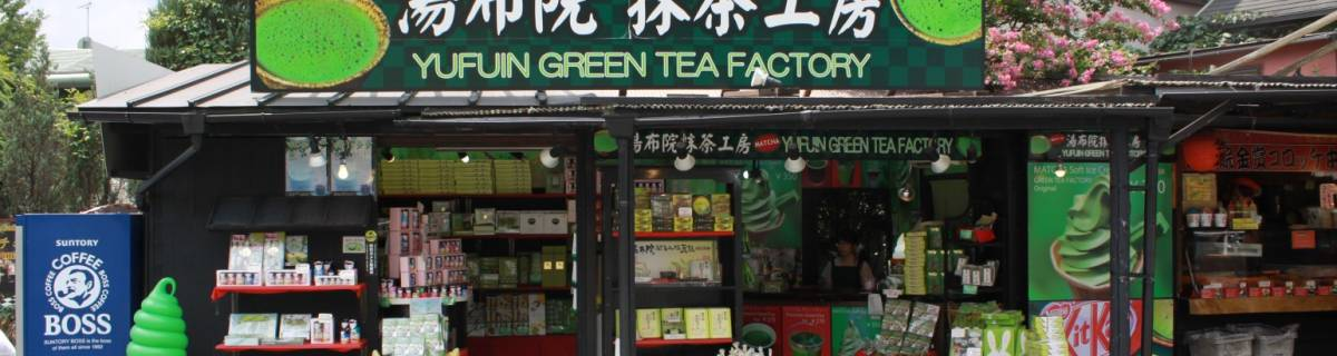 Yufuin Green Tea Factory