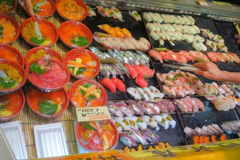 Karato Fish Market Shimonoseki