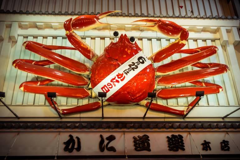 Dotonbori Crab