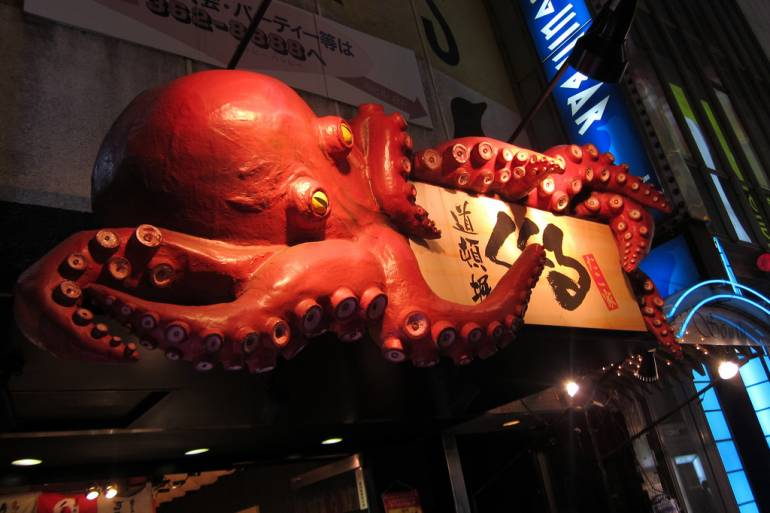 Dotonbori Octopus