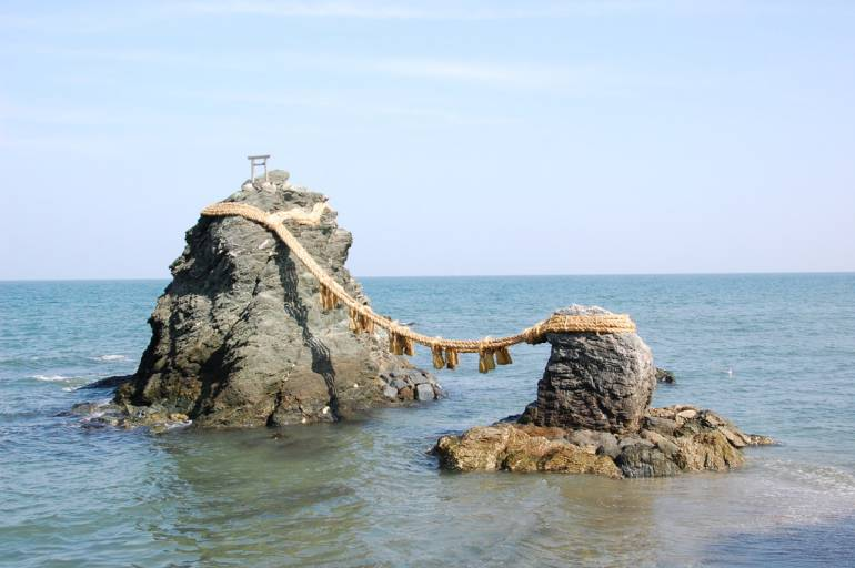 Ise wedded rocks, Mie