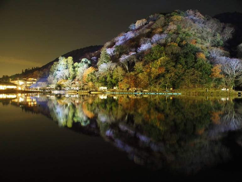 Kyoto illuminations hanatouro arashiyama