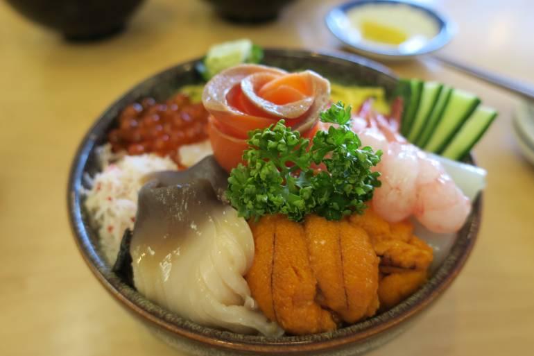 sapporo food seafood