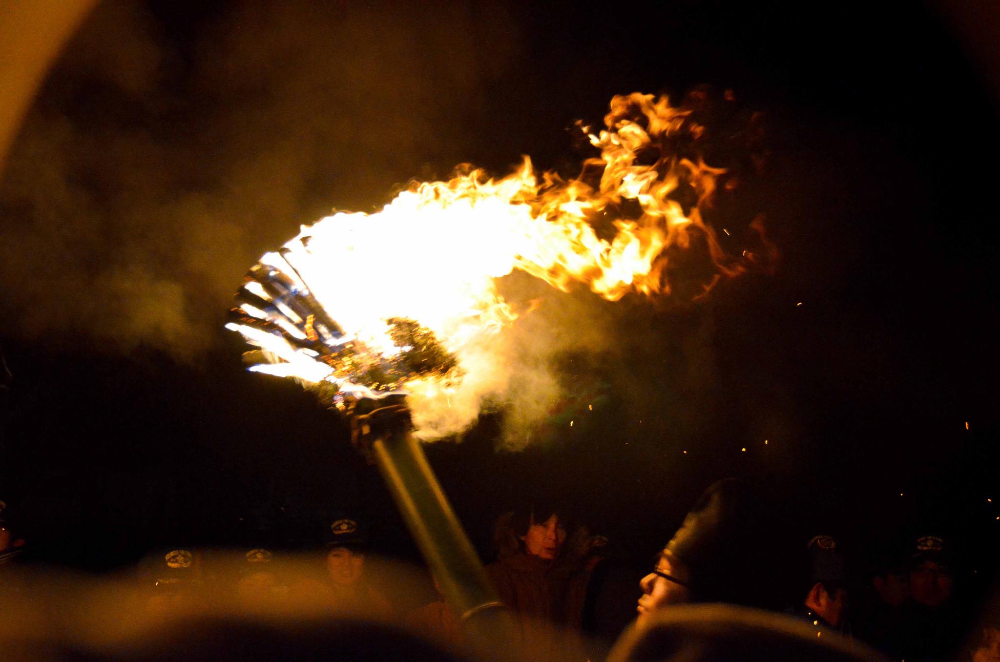 Oni Hashiri – Ogres and Flaming Torches