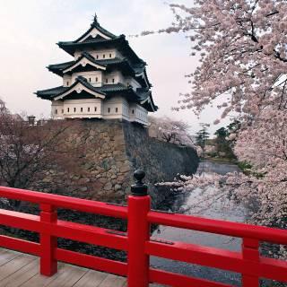 Hirosaki's Moving Castle