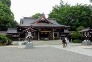 Izumi Shrine, Suizenji Garden