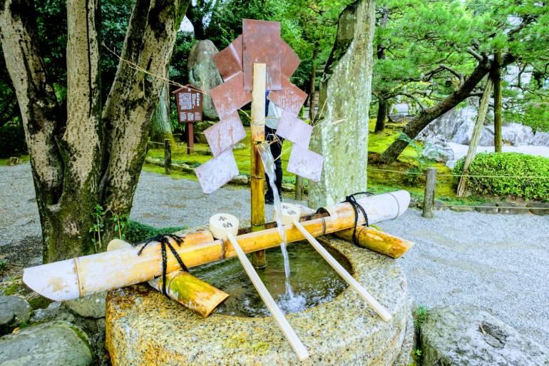 Purification Font, Izumi Shrine, Suizenji Garden, Kumamoto