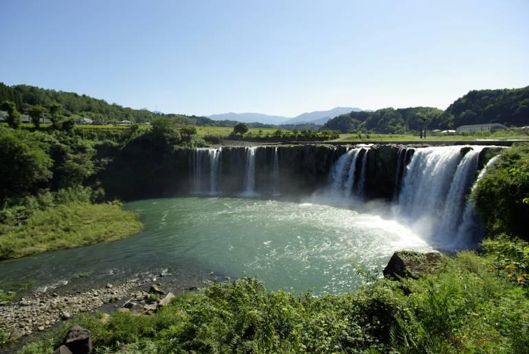 Waterfall of Harajiri, Oita, Kyushu