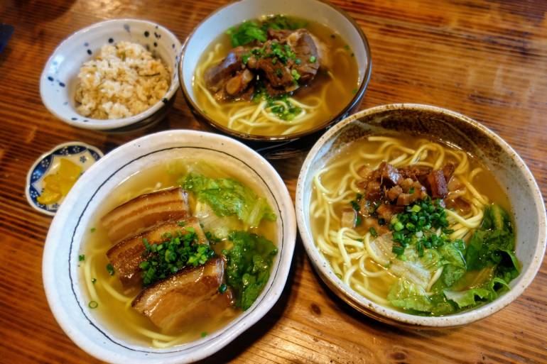 Takenoko Soba Bowls - Taketomi