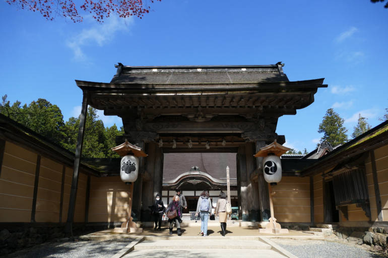 Kongobuji Temple Gate
