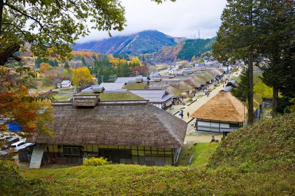Ouchijuku historical village - fukushima samurai tourism