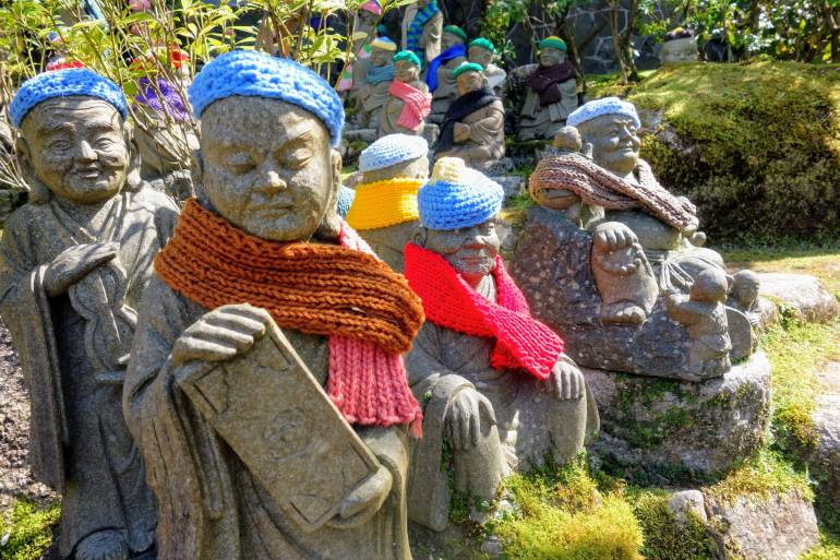 Daishoin Statues