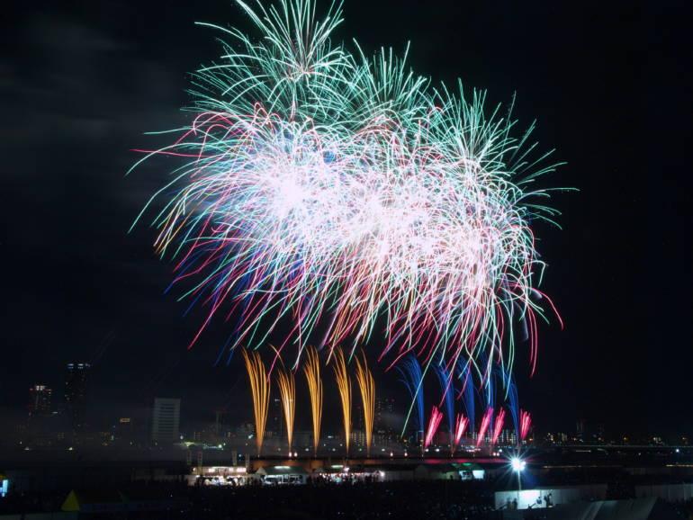 kansai fireworks