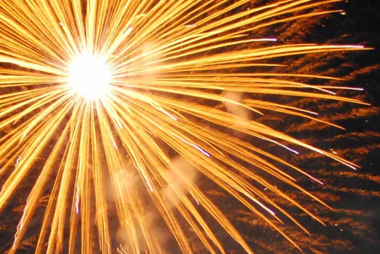 Kyoto Fireworks