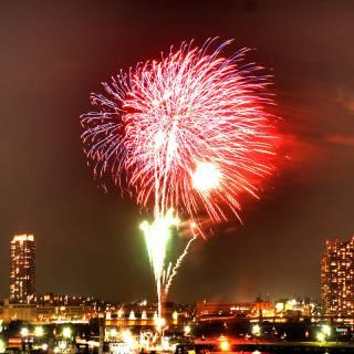 Minato Matsuri Firework Display