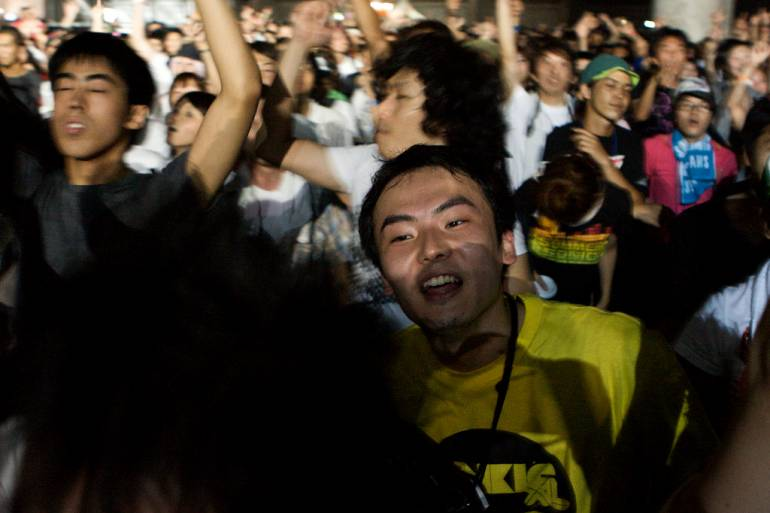 Summer Sonic audience