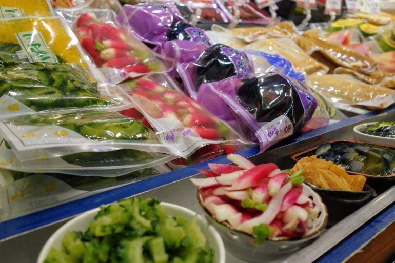 Nishiki Market Pickles