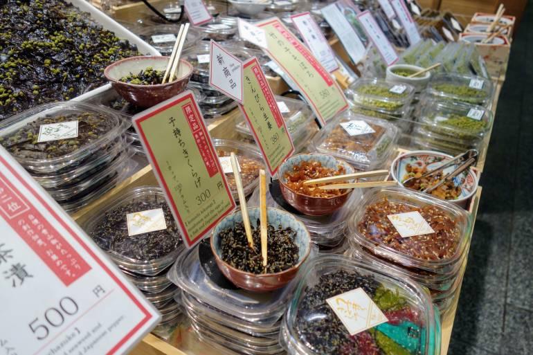 Nishiki Market Seaweed