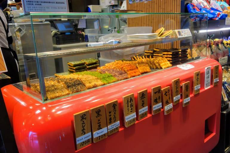 Nishiki Market Senbei