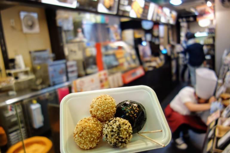Nishiki Market Sesame Balls