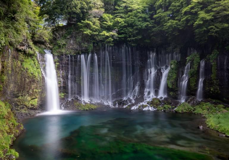 Shiraito Falls Yamanashi