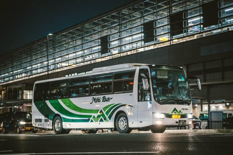 kyoto to tokyo japan bus tours