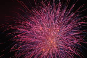 Fireworks (generic) for Kihoku Lantern Festival