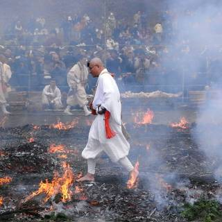 Hi-watari (Ritual Fire Walking) Festival at Daigan-ji Temple