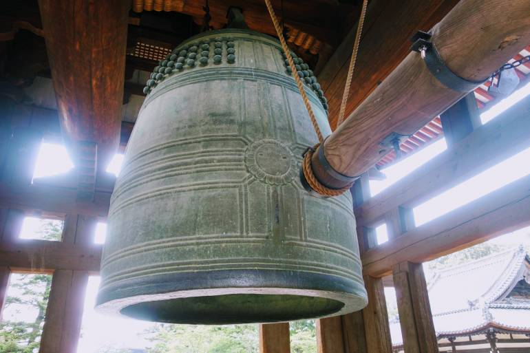 Todaiji Bell Tower Nara