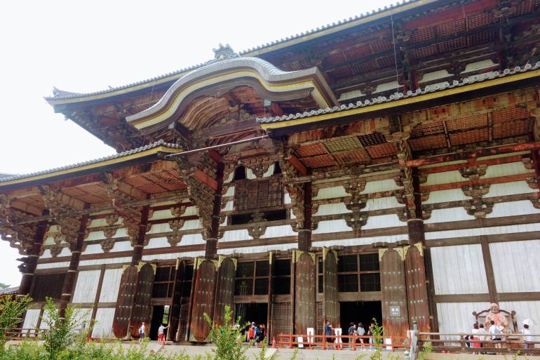 Todaiji Main Hall, Nara, Kansai Region