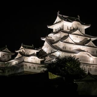 Himeji Castle Light-up
