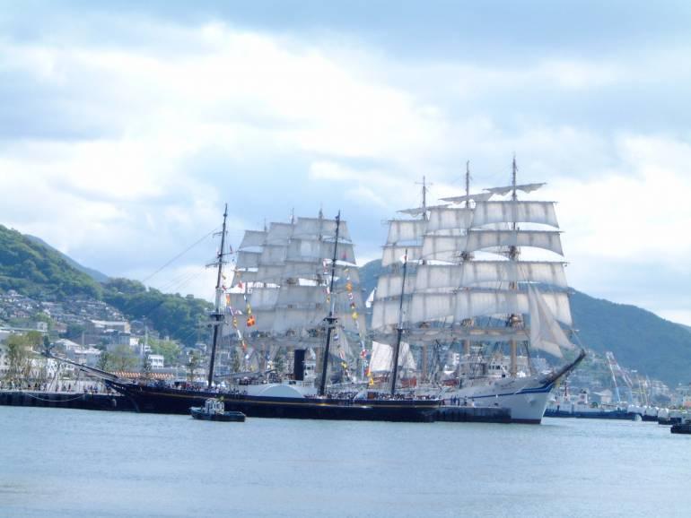 nagasaki sailing ships