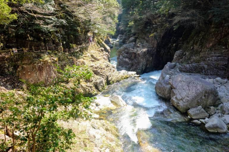 Sandankyo downstream