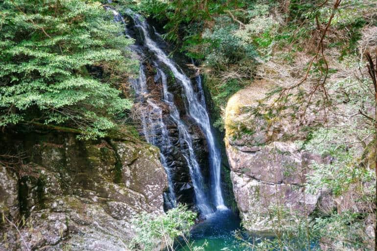 Shimaitaki Waterfall Sandankyo