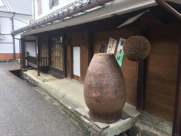 Sake brewery exterior