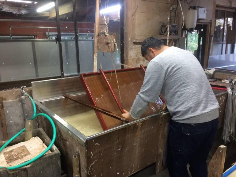 man paper making