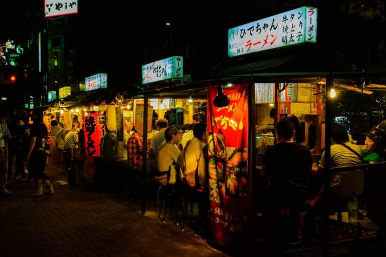 nakasu yatai stalls fukuoka