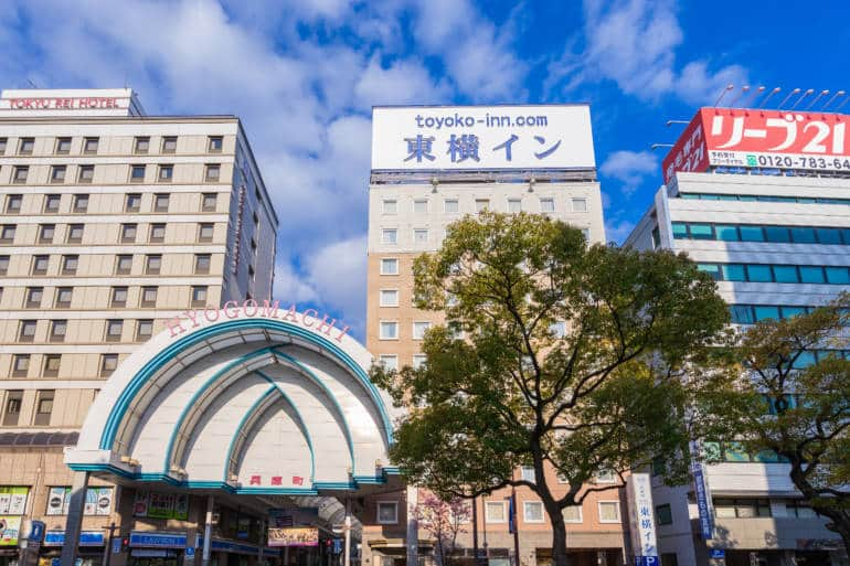 booking business hotel in Japan
