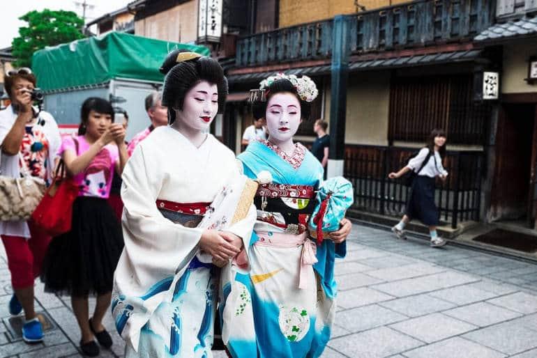 Geiko Maiko Kyoto